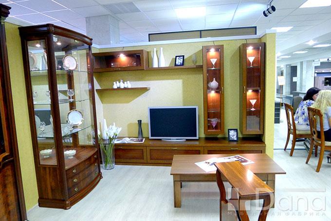 Витрина, журнальный стол, стенка